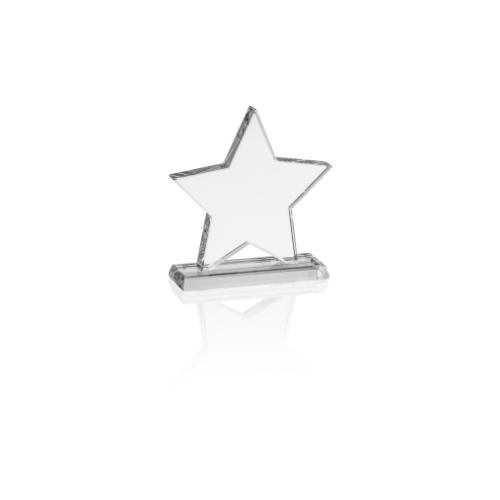 20150GA targa in vetro a forma di stella