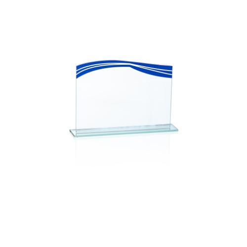 20170GA Targa in vetro ondulare