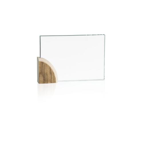 20260GA - targa in vetro rettangolare